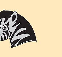 Zebra smile by jazzydevil