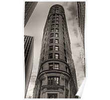Strolling along Wall Street Poster