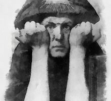 Aleister Crowley by Pierre Blanchard by esotericaart