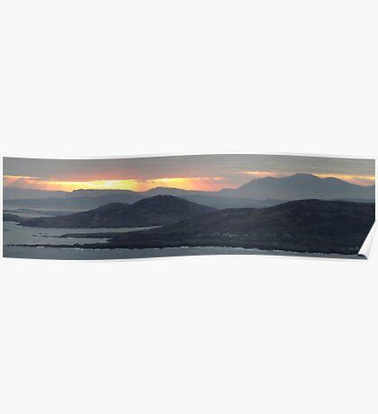 Sunrise over Donegal Poster