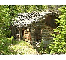 Lost Cabin Photographic Print