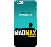 MADMAX: Fury Road iPhone Case/Skin