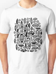Abstract 100813 - Black T-Shirt