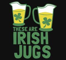 These are IRISH Jugs with green shamrcoks Baby Tee