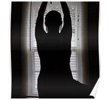 Yoga - Tree Pose Silhouette Poster