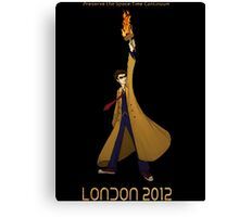 Preserve the Space-Time Continuum: The Doctor in London 2012 Canvas Print