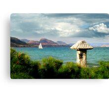 Postcard-perfect day Canvas Print
