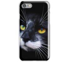 BLACK CAT EYES iPhone Case/Skin