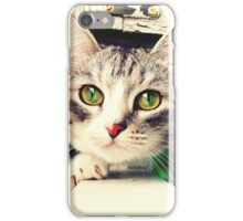CAT CUTE EYES ANIMAL iPhone Case/Skin