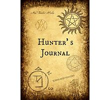 New! Supernatural Hunter's Journals! Photographic Print