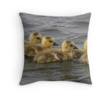 gosling group Throw Pillow