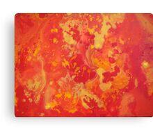 Cosmic Sun Canvas Print