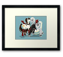 My little Vampires: Drusilla and Spike Framed Print