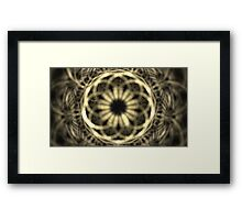 Gray Lights Framed Print