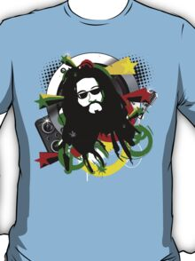 Rasta Music Vector T-Shirt T-Shirt