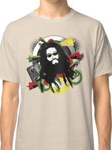 Rasta Music Vector T-Shirt Classic T-Shirt