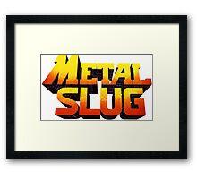 METAL SLUG Framed Print
