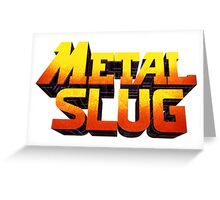 METAL SLUG Greeting Card