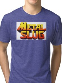 METAL SLUG Tri-blend T-Shirt