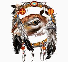 Hawk Face Dream Catcher Long Sleeve T-Shirt
