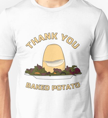 Thank You Baked Potato Unisex T-Shirt