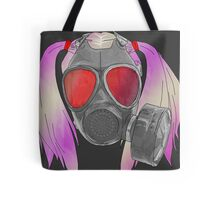 gas mask and pig tails  Tote Bag