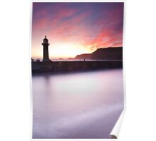 Whitby Harbour Poster