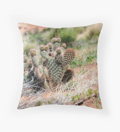 Thorny Situation Throw Pillow