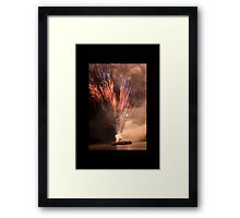 cairns on new years Framed Print