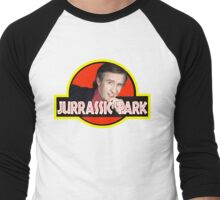 "Alan Partridge ""JURASSIC PARK"" Men's Baseball ¾ T-Shirt"