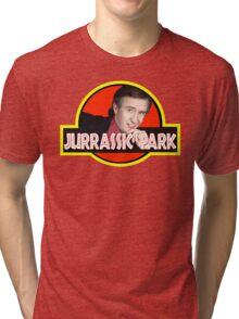 "Alan Partridge ""JURASSIC PARK"" Tri-blend T-Shirt"