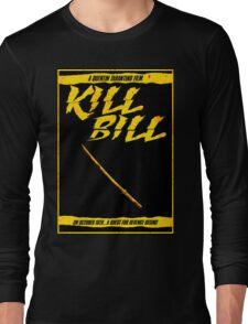 KILL BILL - Minimal Gory Poster Design Long Sleeve T-Shirt