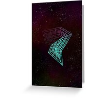 Geometry and Colors XIV Greeting Card