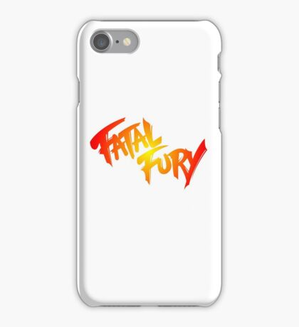 FATAL FURY iPhone Case/Skin