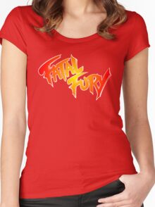 FATAL FURY Women's Fitted Scoop T-Shirt