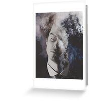 BBC Sherlock: Moriarty in smoke Greeting Card