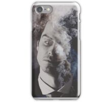 BBC Sherlock: Moriarty in smoke iPhone Case/Skin