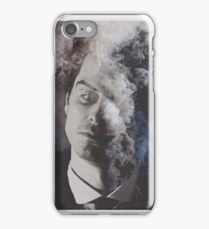 BBC Sherlock: Moriarty in smoke iPhone Case/Skin