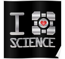 I heart Science Poster