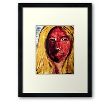 Woman - Can You Love Me As I Am Framed Print