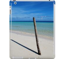 Cuban beach iPad Case/Skin