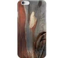 Bark Markings, Penguin, Tasmania, Australia. iPhone Case/Skin