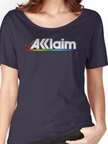 Acclaim Old School Video Game Logo Women's Relaxed Fit T-Shirt