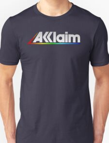 Acclaim Old School Video Game Logo Unisex T-Shirt