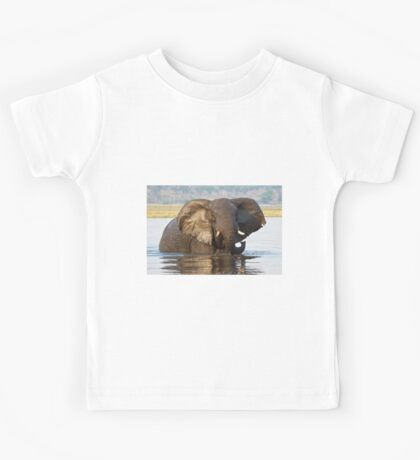 Elephant ... Bronze Beauty Kids Tee