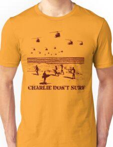 Apocalypse Now Charlie don't surf T-Shirt Unisex T-Shirt