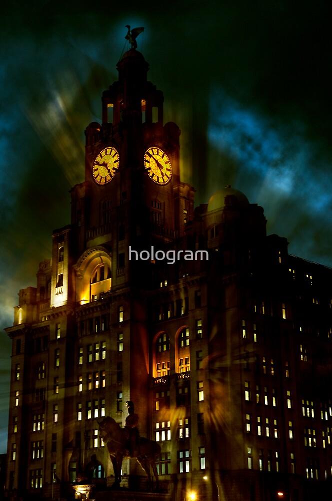 Blitz by hologram