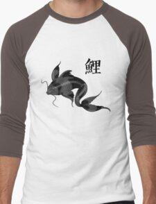 Black Koi with Konji Men's Baseball ¾ T-Shirt