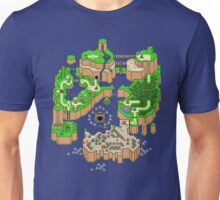DINOSAUR'S LAND MAP Unisex T-Shirt