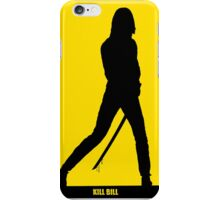 KILL BILL - Minimal Silhouette Poster iPhone Case/Skin
